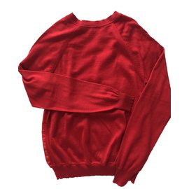 Hermès-Knitwear-Red
