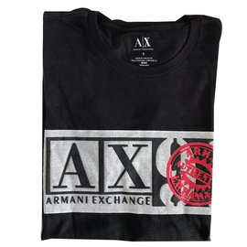 Armani Exchange-Tee-Black
