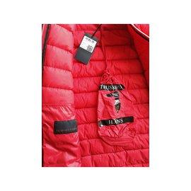Trussardi Jeans-Veste, blouson-Rouge
