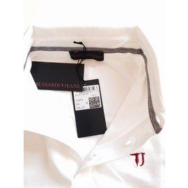 Trussardi Jeans-Taille : 3-Blanc
