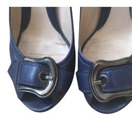 Fendi-Escarpins-Bleu