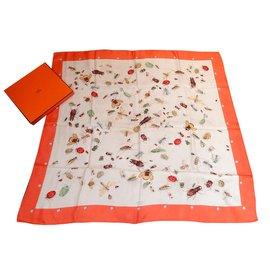 Hermès-Insectes-Multicolore,Orange