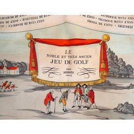 Hermès-Le Noble et Très Ancien Jeu de Golf-Multicolore,Gris