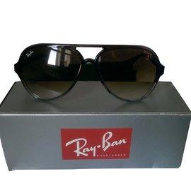 Ray-Ban-RAY-BAN ICONS CATS RB 4125 mixte-Marron