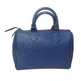 Louis Vuitton-Sac à main-Bleu