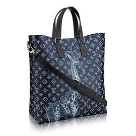 Louis Vuitton-Sac-Bleu Marine