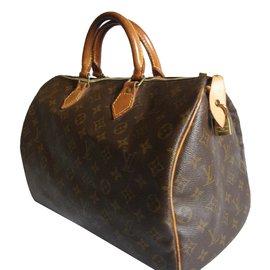 Louis Vuitton-SPEEDY-Marron