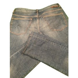 Incotex-Jeans homme-Bleu Marine