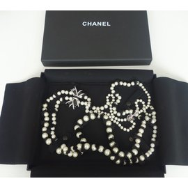 Chanel-Long necklace-Black
