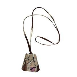 Hermès-Pendant necklace-Other