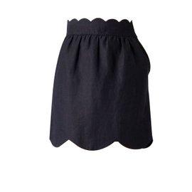 Chloé-Skirt-Navy blue