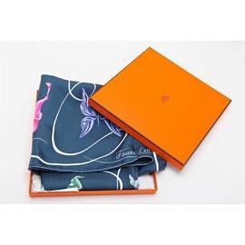 Hermès-Faune Lettrée-Multicolore