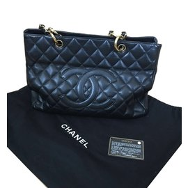 Chanel-Sac shopping-Noir