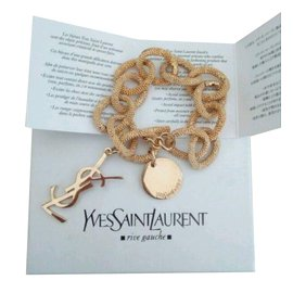 Yves Saint Laurent-Bracelet-Golden