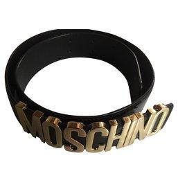 Moschino-Ceinture-Noir