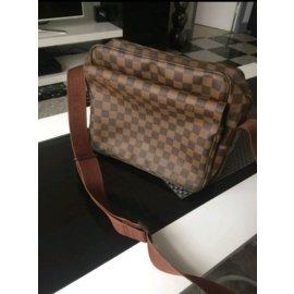 Louis Vuitton-Sac Louis vuitton damier-Marron