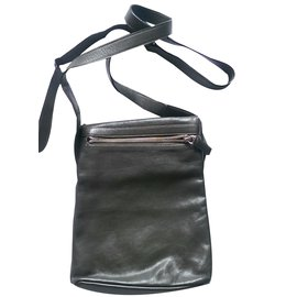 Agnès b.-Bags Briefcases-Khaki