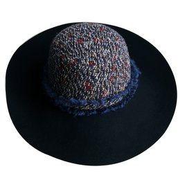 Chanel-Chapeau femme CHANEL-Multicolore