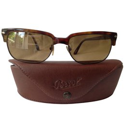 Persol-solaires persil modèle green stipped brown-Marron