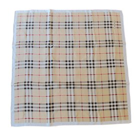 Burberry-Silk scarf-Other