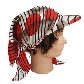 Hermès-Hat / Hat / scarf to tie-Multiple colors