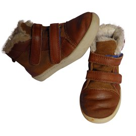 Ugg-Baskets enfant-Marron
