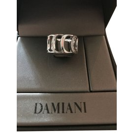 Damiani-Damiani Damianissima Ring White gold & diamands-Metallic