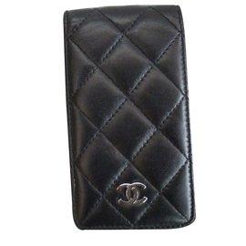 Chanel-Etui  iphone 4-Noir