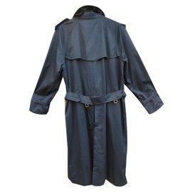 Burberry-Manteau homme-Bleu Marine