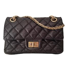 Chanel-2.55 reissue 224-Noir