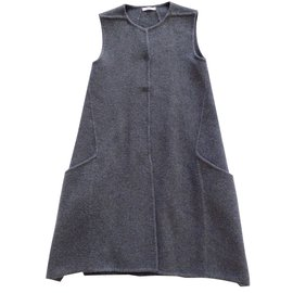 Céline-Coat, Outerwear-Grey