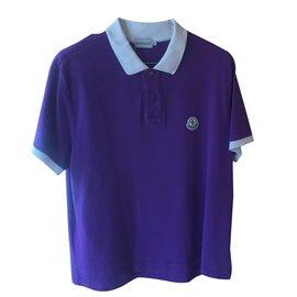 Moncler-Polo-Violet