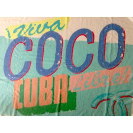 "Chanel-""Viva Coco Cuba Libre"" bath towel-Multiple colors"