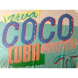 """Chanel-Grande serviette  """"Viva Coco Cuba Libre""""-Multicolore"""