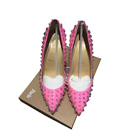Christian Louboutin-Spike pink pigalle follies-Rose
