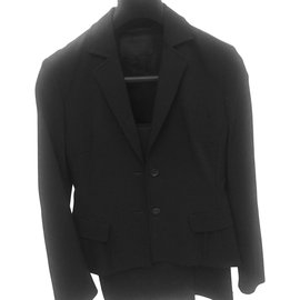 Prada-Tailleur pantalon-Noir