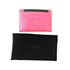 Chanel-Chanel cards case-Pink