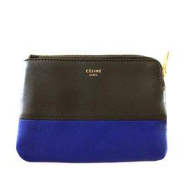 Céline-Celine coin wallet-Grey