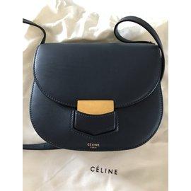 Céline-Sac à main-Bleu