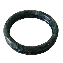 Chanel-Bracelet-Écru,vert olive