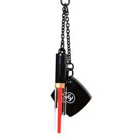 Chanel-Bijou de sac-Noir