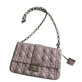 Christian Dior-Sac à main-Rose