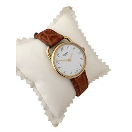 Hermès-Arceau Or-Blanc