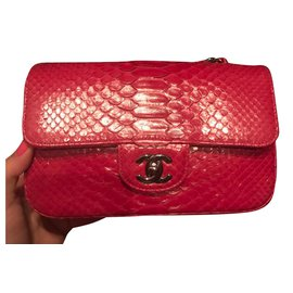 Chanel-Sac à main-Rose