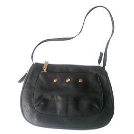 Yves Saint Laurent-Handbag-Black,Red