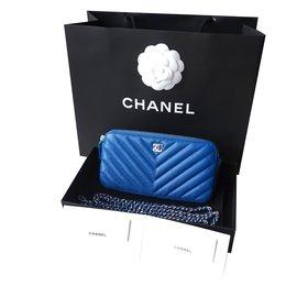 Chanel-Petite maroquinerie-Bleu