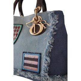 Christian Dior-SAC DIOR DIORISSIMO JEAN-Bleu