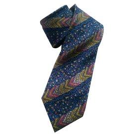 Missoni-Cravate-Multicolore