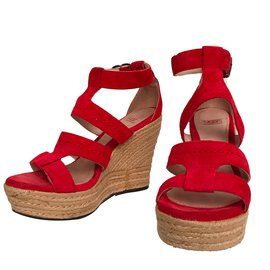 Ugg-Sandales-Rouge