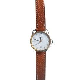 Hermès-Arceau watch-Brown